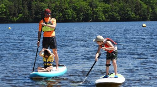 Stand Up Paddle Voile Et Planche A Voile En Correze Location Et Initiation Stand Up Paddle Et Voile En Correze
