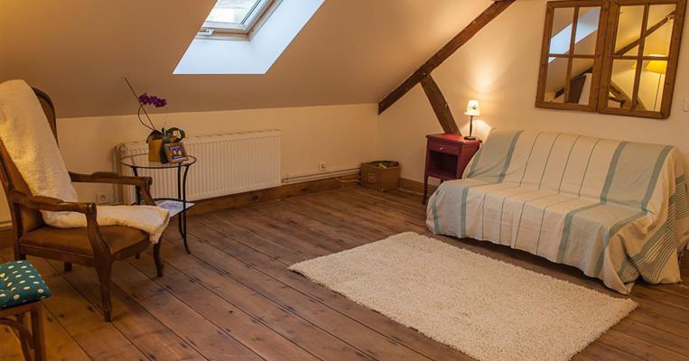 chambre d 39 h tes pomme et ardoise allassac tourisme corr ze. Black Bedroom Furniture Sets. Home Design Ideas
